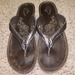 Olukai Wedge Sandals
